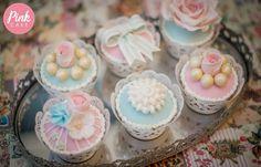 Pastel Vintage Cupcakes