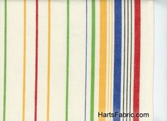 Multi Stripes Moda Toweling Fabric