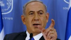 Prime Minister Benjamin Netanyahu during a press conference at the Defense Ministry in Tel Aviv, Friday, July 11, 2014. (photo credit: AP/Ga...