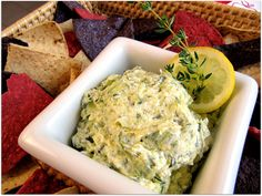 Creamy Zucchini and Goat Cheese Dip from @Priscilla Willis - with all that zuccini it must be healthy, right?