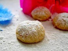 ΜΑΓΕΙΡΙΚΗ ΚΑΙ ΣΥΝΤΑΓΕΣ: Κουραμπιέδες με λάδι!! Greek Cooking, Sugar And Spice, Biscuits, Spices, Xmas, Christmas, Sweets, Bread, Cake