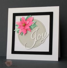 GG Creations: Christmas Card with Die Cuts