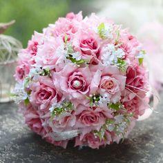 >> Click to Buy << 2017 Cheap Wedding/Bridesmaid Bouquets New Colorful Amazing Bridal Handmade Artificial Rose Bouquet de mariage ramo de la boda #Affiliate