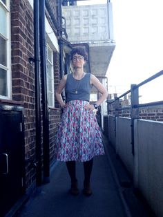 Megan Nielsen Brumby skirt - Snitches Get Stitches