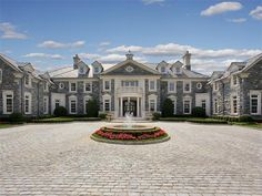 Mansion in the Second Most Expensive Zip Code >> http://coolhouses.frontdoor.com/2013/02/20/stone-mansion-in-second-most-expensive-zip-code/?soc=pinterest#