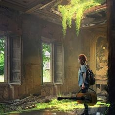 What game are you most excited for in Last of us part By Prince Mahlangu Playstation Games, Ps4 Games, Creative Writing Inspiration, Film Inspiration, Joel And Ellie, The Last Of Us2, Life Is Strange, Post Apocalyptic, Game Art