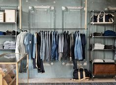 STEPS TO AN ORGANIZED CLOSET --   #1 WEED OUT YOUR CLOTHES Every six months, it's a good idea to review your wardrobe. Decide what you want to keep, what needs repair, and what should be given away or discarded. New acquisitions may demand new storage strategies, such as rearranged shelves, extra bins, or additional rods.