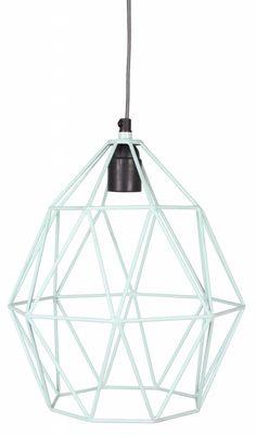 Kids Depot Wire hanglamp Mint - Ik Ben Zo Mooi