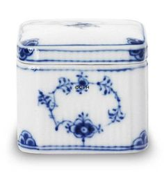 Royal Copenhagen Blue Fluted  Bonbonniere