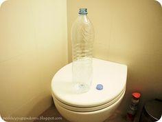 How to flush the toiled Jak butelką odblokować toaletę