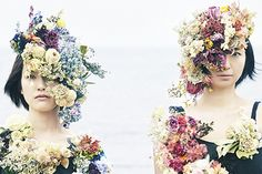 """このクリエイティブすごくかわいい。""""廃棄花""""をテーマにしているのもよい!"""