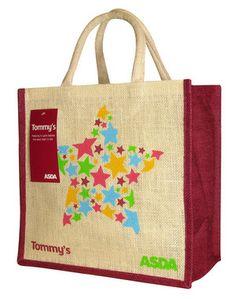 Asda Hessian Bag - Bag for life