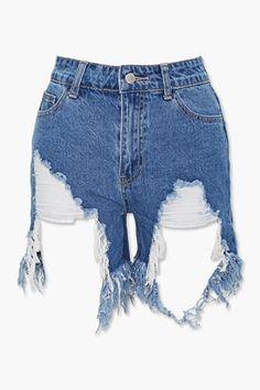 Shop Forever, Forever 21, Acid Wash Shorts, F21, Latest Trends, Denim Shorts, Topshop, Best Deals, Tees