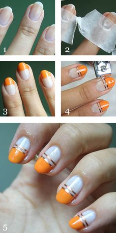 Manicure Monday Striping Tape Nail Art Guest Post Makeup And Beauty Blog