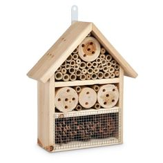 Relaxdays Bee House Insect Hotel Fir Wood And Bamboo 25 X 10 X 30 Cm Relaxdays http://www.amazon.com/dp/B00HCA8J0E/ref=cm_sw_r_pi_dp_lPuOvb1JH7JQ1