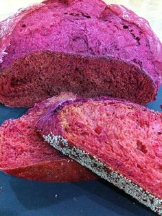 Baking Diary: Beet Bread, It is red!