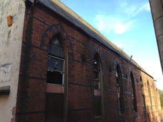 Urban Wandering - derelict building, Legge Lane, Birmingham #psychogeography
