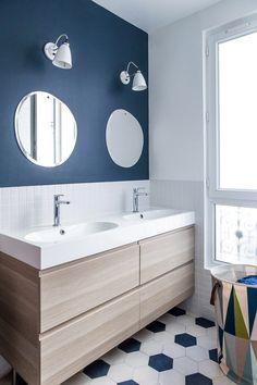 Bleu dans la salle de bains : 10 inspirations déco | Inspiration ...