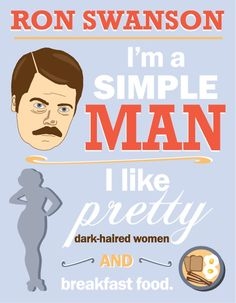 My Ron Swanson poster