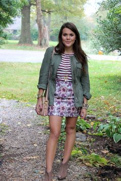 Glitter and Gingham : north vs. south: mixing prints