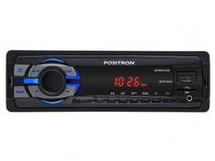 Som automotivo Pósitron SP 2210UB com Entrada USB - Micro SD e Auxiliar Frontal