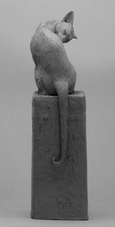 Louise Peterson - Putzen - Art for Art - Kunst Pottery Animals, Ceramic Animals, Ceramic Art, Gravure Illustration, Illustration Art, Illustrations, Pottery Sculpture, Sculpture Clay, Beaux Arts Lyon