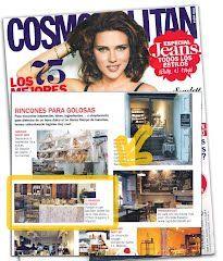 Reseña aparecida en la revista Cosmopolitan