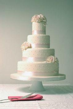 Simple White Wedding Cake Hobart Wedding Photography Epsom - Wedding Cakes Hobart
