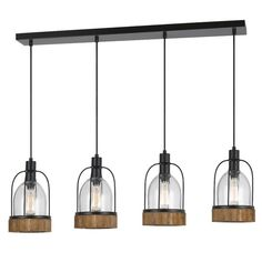 You'll love the Elettra 4-Light Kitchen Island Pendant at Birch Lane - With Great Deals on all products and Free Shipping on most stuff, even the big stuff.