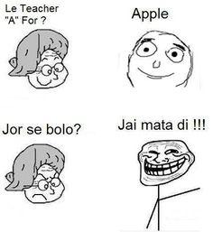 When at school #Troll :D