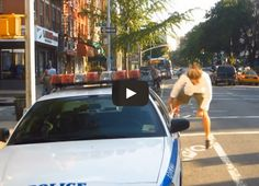 NYPD Gave the Wrong Guy a Ticket..This Was His Awesome Response....(Collect that money, make that quota, lazy ass cop with nothing better to do.) do they ever go after real criminals, not often probably because their fkg idiots!