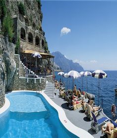 Hotel Santa Caterina in Amalfi, #Italy : #Travel #beach #wanderlust #tour #trip #vacation #holiday #adventure #place #destinations
