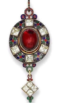 Holbeinesque Pendant from early 18th century