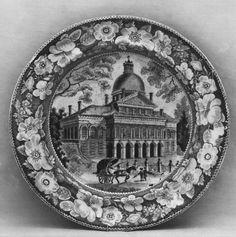 Enoch Wood & Sons | Plate, ca. 1818–ca. 1846  | British (American market) | The Met