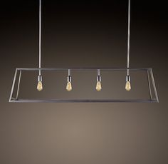 too angular and harsh?  Modern Filament Chandelier from RH