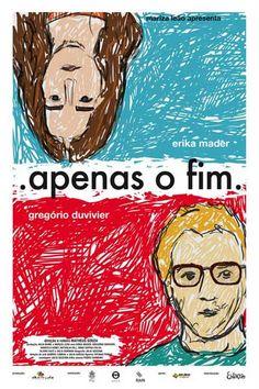 brazilian film poster - apenas o fim