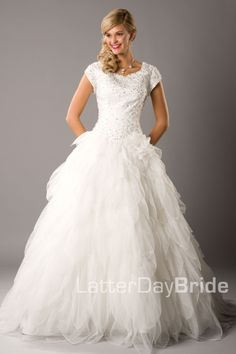 not that I was looking at wedding dresses or anything...