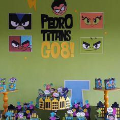 Oi, sou Paper's Personalizados (@paperspersonalizados) • Fotos e vídeos do Instagram Batman Birthday, 5th Birthday, Birthday Parties, Teen Titans Go, Superhero Party, Diy And Crafts, Kids, Robots, Cookies