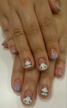Nails osito panda