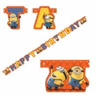 We stock a great range of Minions Party Products. Despicable Me Party Banners, Cups, Masks, Candles, Minions Invitations. Despicable Me 2 Minions, Minion S, Birthday Letters, Happy Birthday Banners, Universal Studios, Minion Party Supplies, Minion Invitation, Wholesale Party Supplies, Minion Birthday