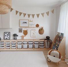 Ooh Noo Spielzeug Schubkarre - kids room Pin by Tina Schaadt on Kinderzimmer in 2020 Playroom Organization, Playroom Decor, Baby Room Decor, Playroom Ideas, Ikea Kids Playroom, Toddler Playroom, Room Baby, Playroom Design, Child Room
