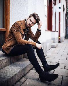 Esporte Fino. Macho Moda - Blog de Moda Masculina: Esporte Fino Masculino, Dicas para Inspirar! Moda Masculina, Roupa de Homem, Moda para Homens, Jaqueta de Veludo, Calça Skinny, Chelsea Boot