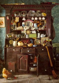Green Welsh Dresser