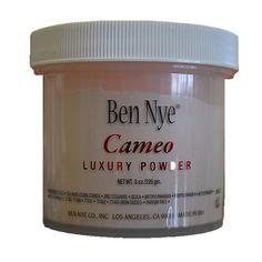 Love Ben Nye Bella Luxury Powder - Use Cameo for fair skin and banana powder for darker skin tones