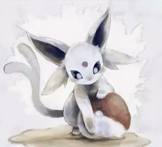 espeon, pokemon, and cute image Umbreon And Espeon, Pokemon Eeveelutions, Eevee Evolutions, Pokemon Go, Type Pokemon, Evolution Pokemon, Pokemon Mignon, Graphisches Design, Pokemon Pictures
