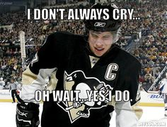 sidney crosby cry | The Sidney Cry-Fest has Officially Begun. - PGT talk