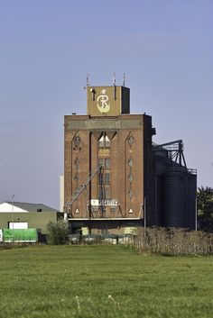 industrial heritage, graansilo Robertus, Winschoten, the Netherlands Industrial Architecture, Water Tower, Urban Exploration, Modern Buildings, Shelters, Windmill, Monuments, Urban Decay, Lighthouse