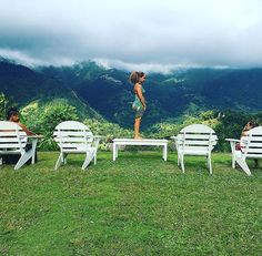 """""""Contemplating the next yoga pose with solid fren-from-when direction 🇯🇲 #tbt #furthertogether • • • • • • • • • • • • • • • • #samarareneethomas #travel #travelgram #traveling #vacation #trip #holiday #jamaica #fitness #fit #photo #photooftheday #pic #picoftheday #beautiful #beauty #pretty #blackgirlmagic #bestoftheday #friends #love #inspiration #motivation #instagood #lifestyle #tree #green #mountains"""" by (samara_renee). traveling #instagood #picoftheday #pic #pretty #beautiful…"""