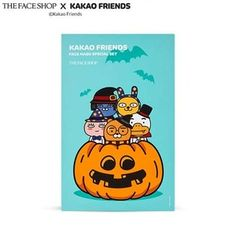 the face shop happy halloween kakao friends mask sheet