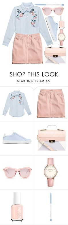 """""""Untitled #383"""" by virginia-laurie ❤ liked on Polyvore featuring Rails, H&M, Givenchy, Dorothy Perkins, Karen Walker and Topshop"""